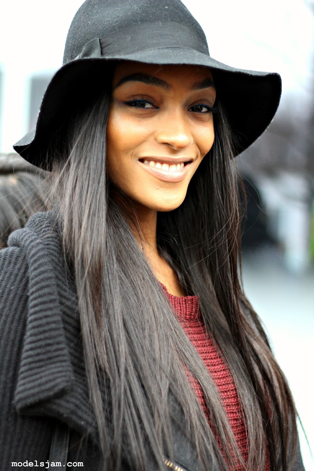jourdan dunn black British fashion model, zanjoo