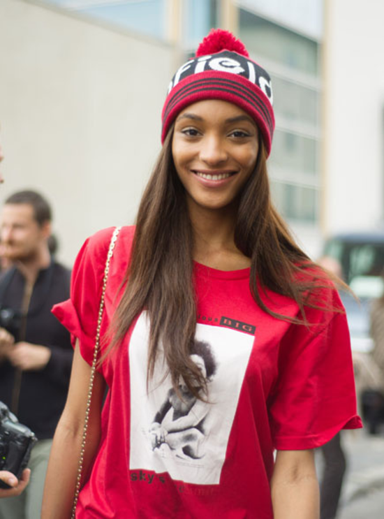 jourdan dunn black model