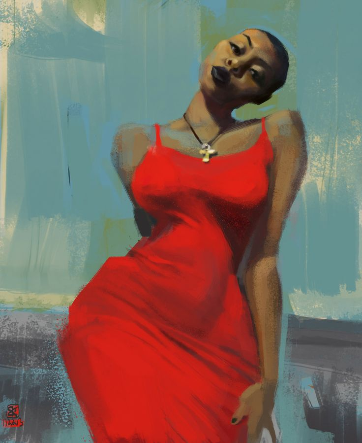 Black women illustration 3