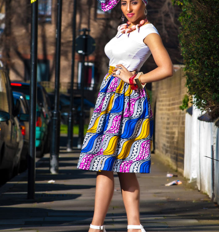 Werk It! The Zanjoo: Bamah Midi Skirt