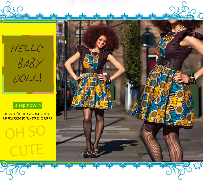 Hey Baby Doll! Zanjoo Shemesh Skater Dress