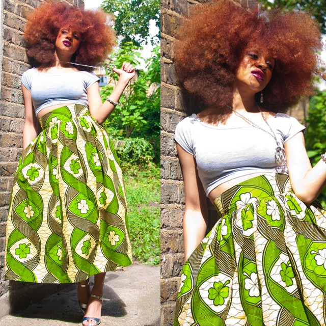 Wow Gurl: The Fab Tunjecko Midi Skirt