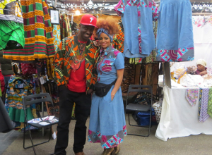 Beautiful Day:  African Market at Old Spitalfields