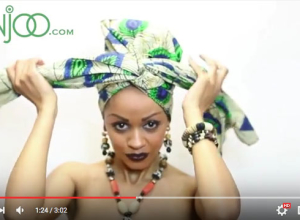 Head Wrap: Beautiful African Side Bow Tutorial