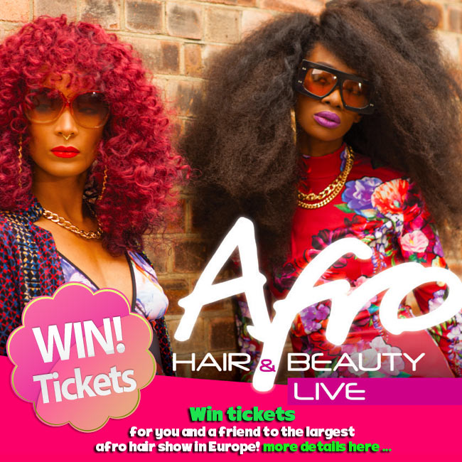 Afro Hair & Beauty Live 2016 Ticket Giveaway